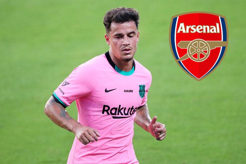 CHUYỂN NHƯỢNG Arsenal: Pháo thủ quyết 'nổ bom tấn' Coutinho, Arteta lên tiếng về vụ Jorginho