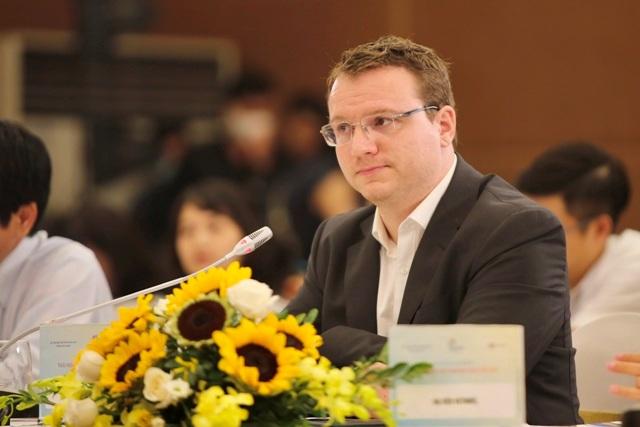 Ông Martin Koerner – Giám đốc thương mại Alma Resort