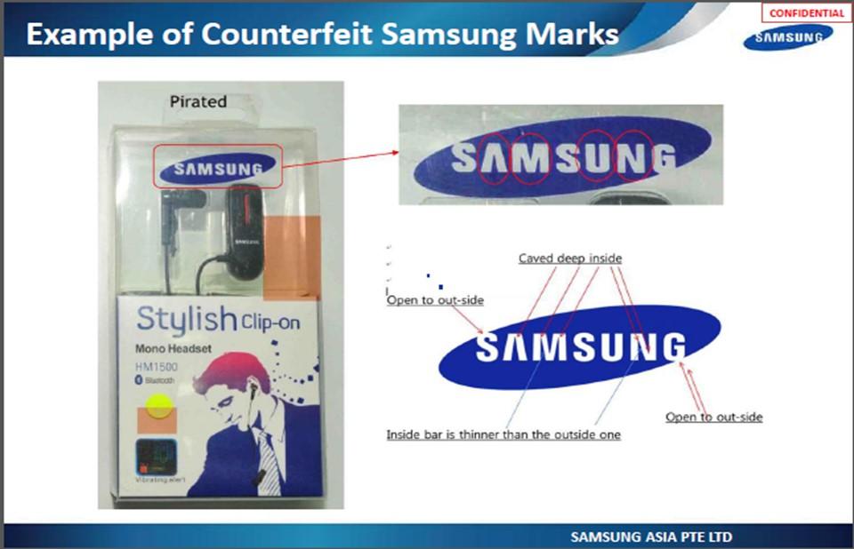 Xử phạt 70 triệu đồng với cửa hàng kinh doanh linh kiện giả mạo nhãn hiệu Apple và Samsung tại Gia Lai.
