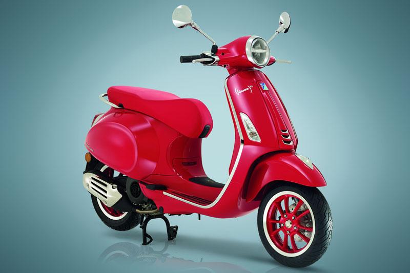 Vespa Primavera RED 2020.