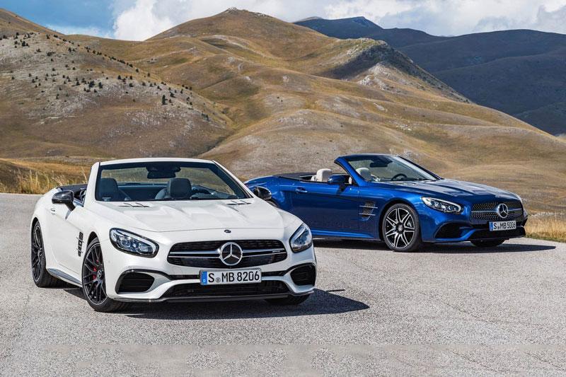 5. Mercedes-Benz SL 2020 (giá khởi điểm: 91.000 USD, điểm tổng thể: 8,6/10).
