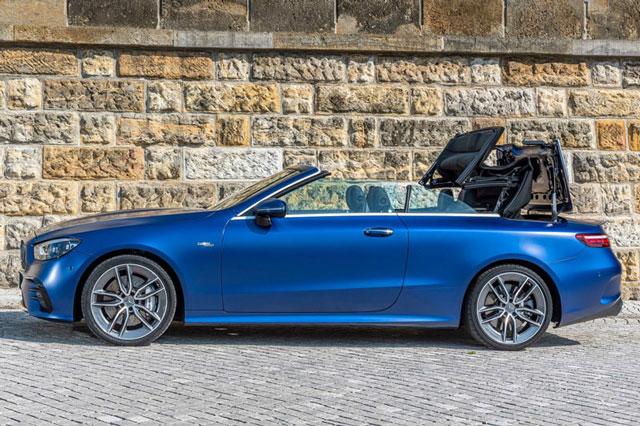 Mê đắm với vẻ đẹp hoàn mỹ của Mercedes-Benz E53 AMG Cabriolet 2021, giá gần 2 tỷ đồng