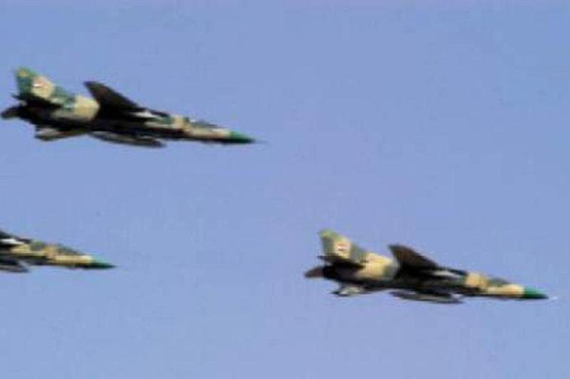 """Chiến đấu cơ Nga """"dội"""" hỏa lực, tiêu diệt các hang ổ của khủng bố IS ở Syria"""