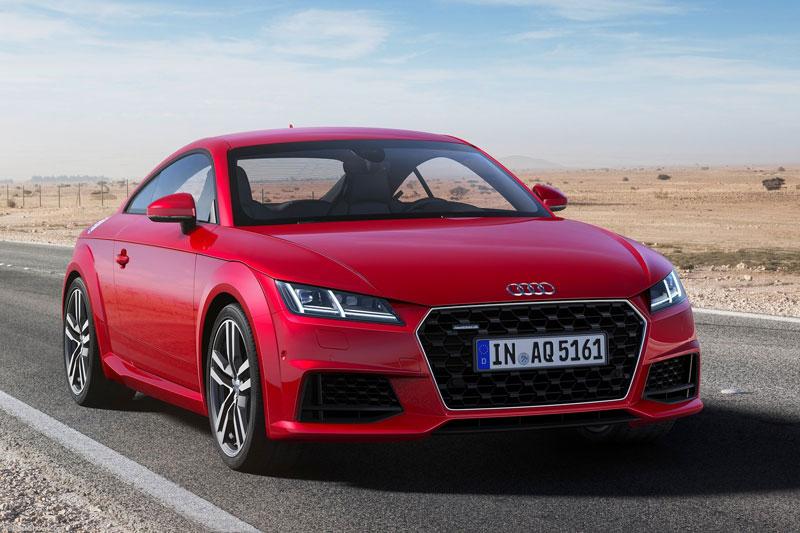 8. Audi TT 2020 (giá khởi điểm: 45.500 USD, điểm tổng thể: 8,3/10).