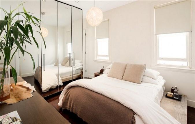 Mách bạn 10 mẹo khuếch đại không gian phòng ngủ nhỏ - Ảnh 3.