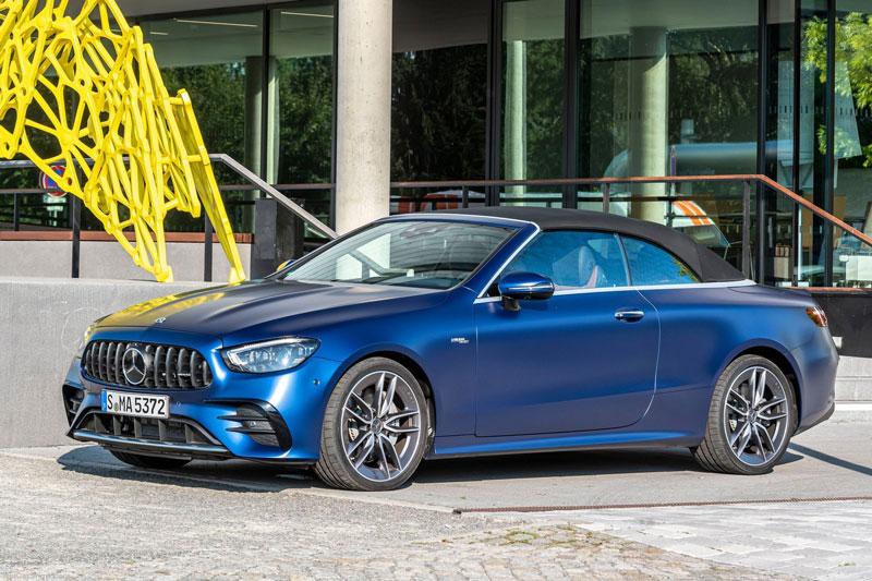 Mercedes-Benz E53 AMG Cabriolet 2021.