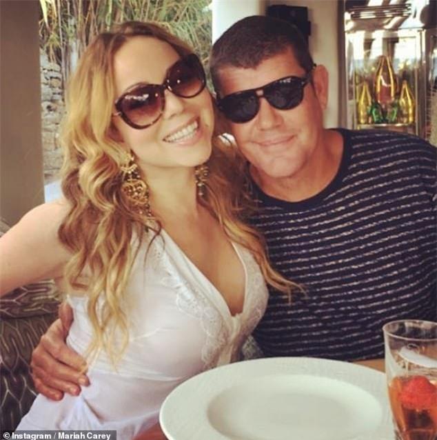 Mariah Carey và James Packer từng gắn bó một năm rưỡi.
