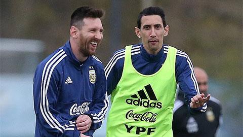 Di Maria cho rằng những ngôi sao lớn tuổi khác như Lionel Messi hay Sergio Aguero cũng nên bị gạch tên