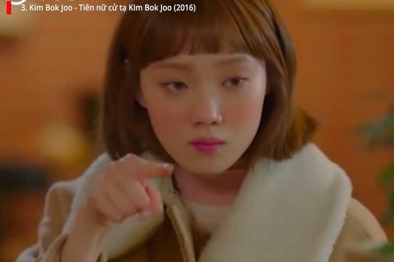 Phân cảnh trong Tiên nữ cử tạ Kim Bok Joo.