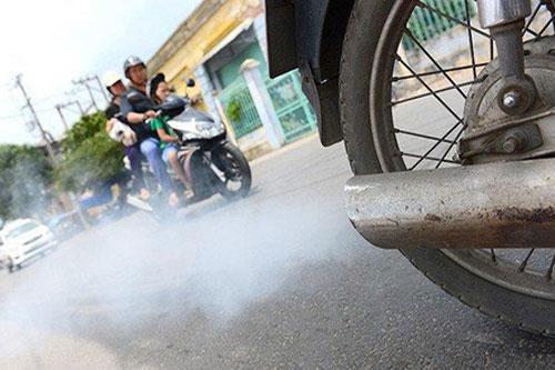 Xử lý xe máy cũ không đạt chuẩn khí thải