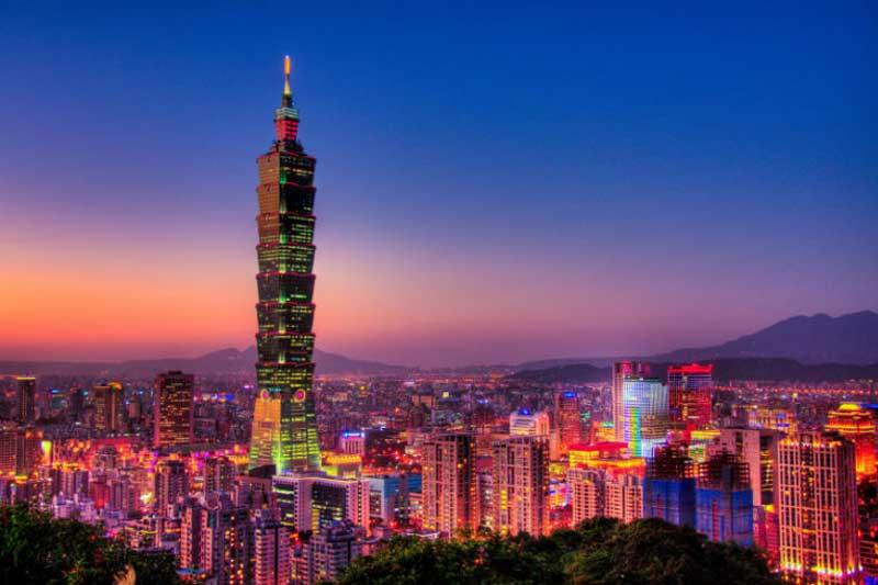 10. Đài Bắc 101 (Đài Loan, Trung Quốc) - 101 tầng.