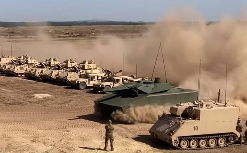 Xe chiến đấu bộ binh Lynx KF41 tại cuộc tập trận của NATO. Ảnh: Topwar.