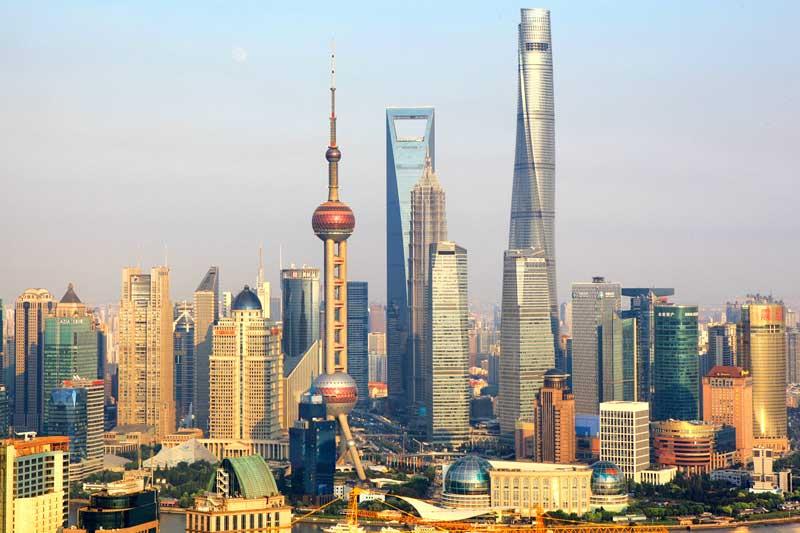 2. Tháp Thượng Hải (Trung Quốc) - 128 tầng.