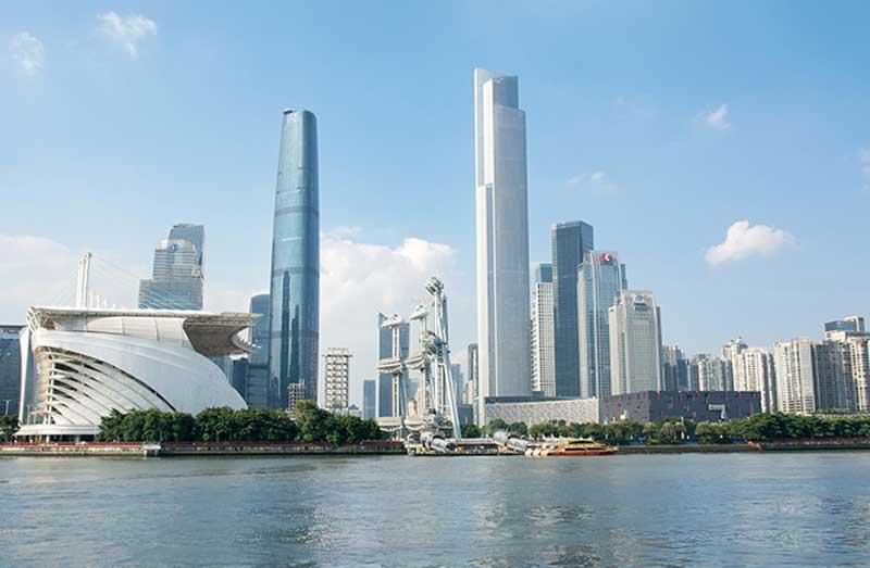 7. Trung tâm tài chính CTF Quảng Châu (Trung Quốc) - 111 tầng.