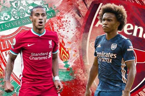 Đội hình dự kiến Liverpool và Arsenal: Thiago Alcantara sẽ đá thay Henderson?