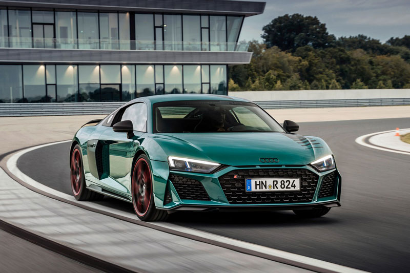 Audi R8 Green Hell.