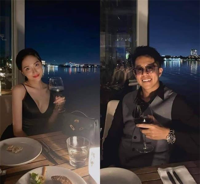 Hương Giang và bạn trai hẹn hò 1