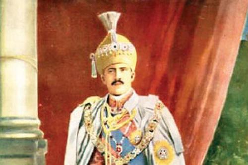 Chân dung Nizam Đệ Thất (6/4/1886 - 24/2/1967).