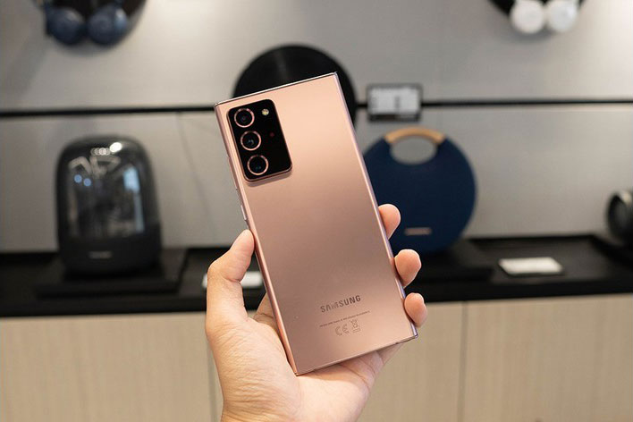 Samsung Galaxy Note 20 Ultra giảm giá hấp dẫn tại Việt Nam