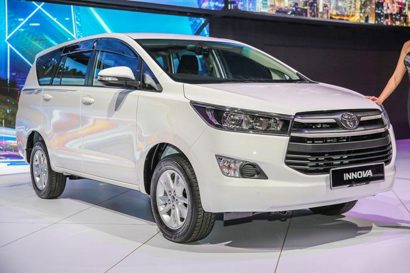 2. Toyota Innova (doanh số: 2,482 chiếc).