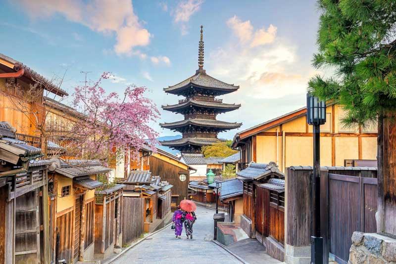 7. Thành phố Kyoto, Nhật Bản.