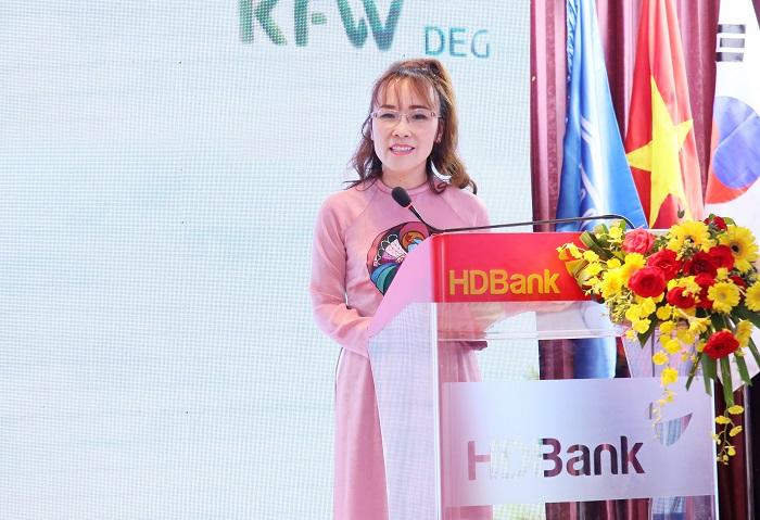 Bà Nguyễn Thị Phương Thảo, Chủ tịch HĐQT Tập đoàn Sovico, Phó Chủ tịch Thường trực HĐQT HDBank.
