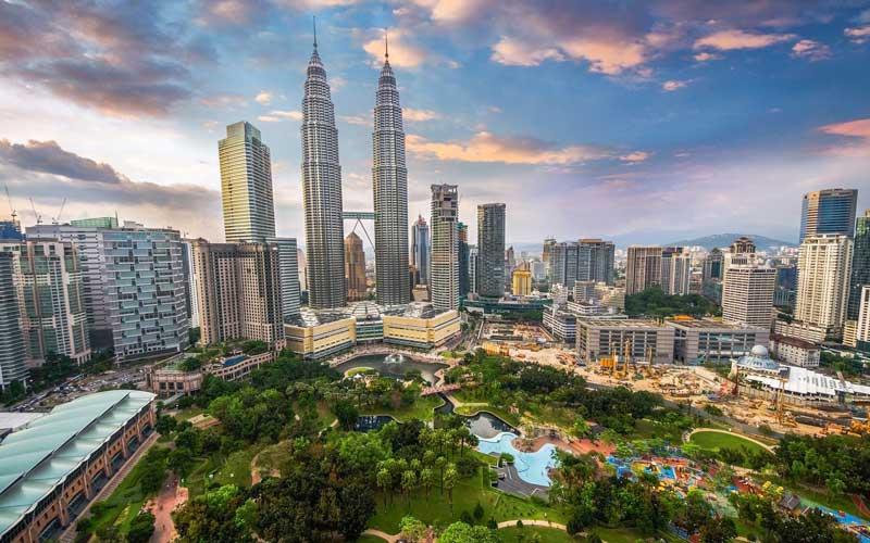 4. Thủ đô Kuala Lumpur, Malaysia.