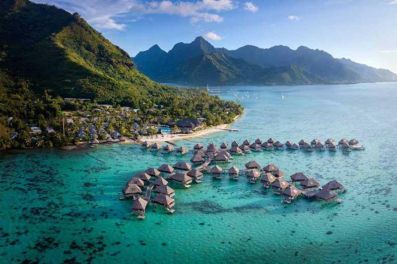 10. Moorea, Polynesia thuộc Pháp.