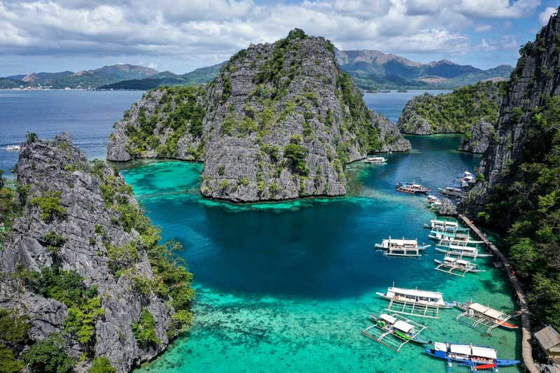 3. Palawan, Philippines.