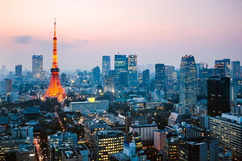 8. Thủ đô Tokyo, Nhật Bản.