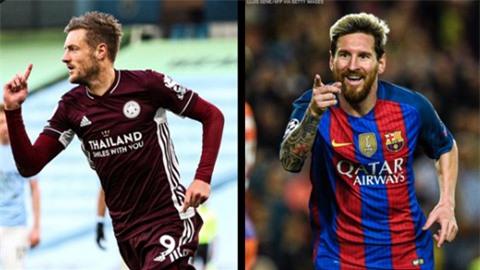 Vardy vượt qua Messi để trở thành 'hung thần' của Guardiola