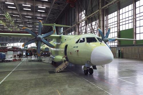 Máy bay vận tải hạng nhẹ Il-112V của Nga. Ảnh: TASS.