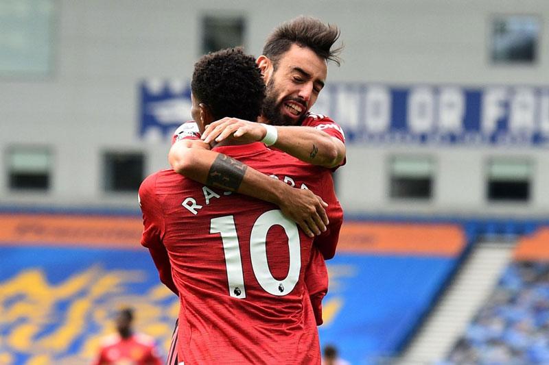 Đội hình tiêu biểu vòng 3 Premier League: Vinh danh Bruno Fernandes, Rashford