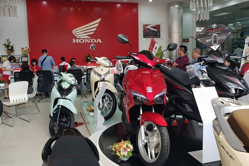 Honda sụt giảm doanh số toàn cầu