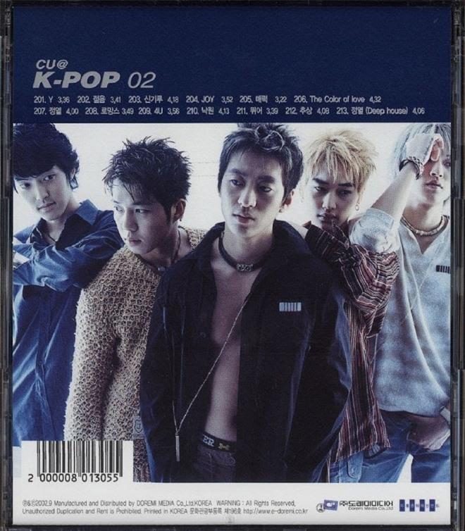 Nhóm nhạc Hàn tan rã 5