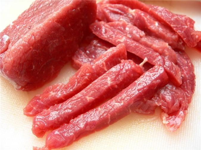 Thịt lợn cũng là loại thực phẩm cần phải nấu chín hoàn toàn