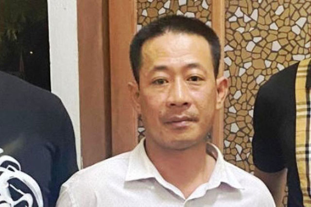 Cảnh sát hình sự đã bắt giữ được Lê Minh Hải. Ảnh: CA.
