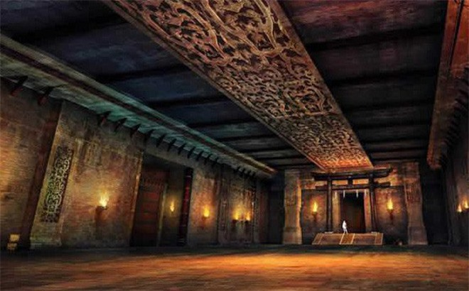 Những ngọn đèn ''ngàn năm không tắt'' trong các ngôi mộ cổ. Ảnh minh họa