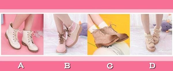 Bạn chọn đôi giày nào?