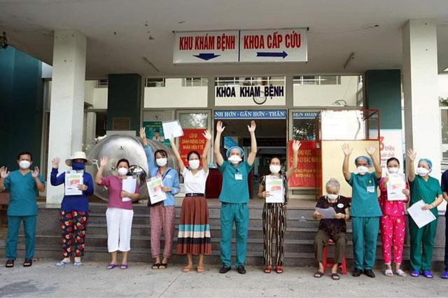 Bệnh nhân COVID-19 được công bố khỏi bệnh tại Đà Nẵng ngày 16/8.
