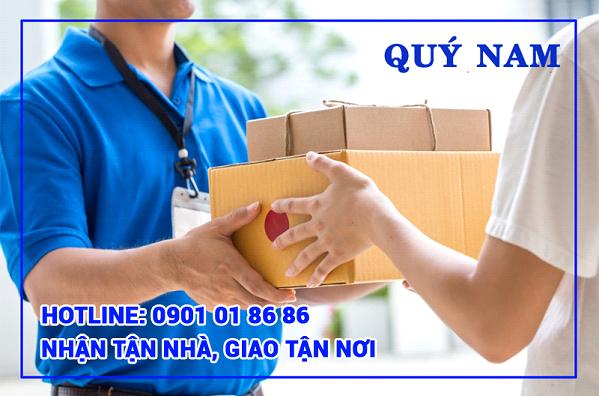 Quý Nam nhận giao hàng door to door tại Mỹ.