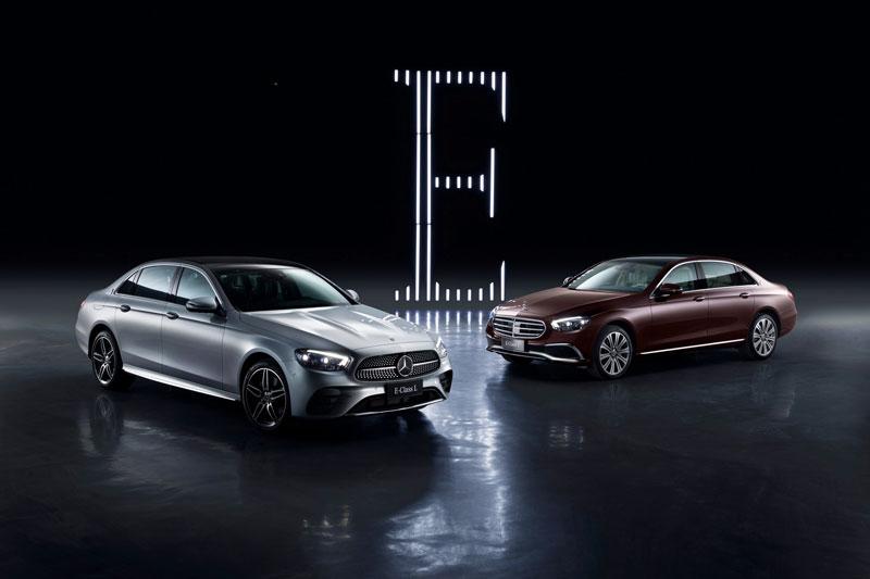 Mercedes-Benz E-Class L 2021.