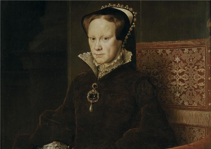 Nữ hoàng Mary I là một trong những bậc đế vương tàn bạo nhất lịch sử