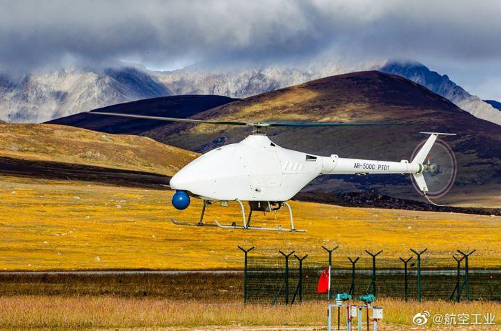 Trung Quốc thử nghiệm thành công nguyên mẫu UAV AR500C VTOL ở độ cao đáng nể