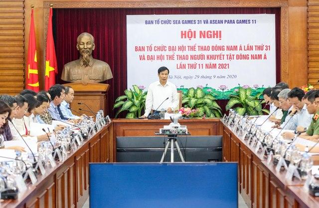 Bộ trưởng Bộ Văn hoá, Thể thao và Du lịch, Trưởng Ban tổ chức Nguyễn Ngọc Thiện,