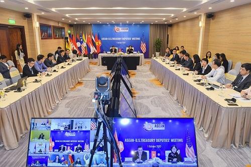 ASEAN và Bộ Tài chính Hoa Kỳ đối thoại, chia sẻ quan điểm trong lĩnh vực tài chính – ngân hàng