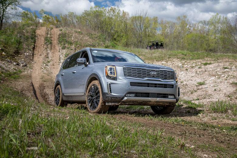 Top 10 xe SUV địa hình tốt nhất năm 2020: Kia Telluride đầu bảng