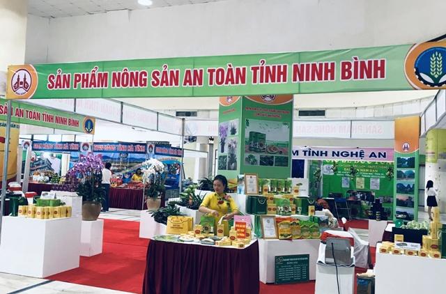 nông sản an toàn và sản phẩm OCOP tỉnh Ninh Bình.