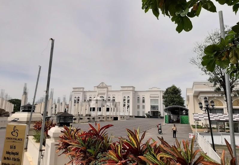 dự án Khu phức hợp thương mại dịch vụ và căn hộ cao cấp tại số 15 Đồng Khởi, phường Tân Tiến, TP Biên Hòa.
