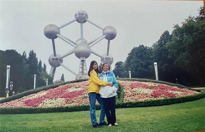 Mô hình phân tử học Atomium - biểu tượng của nước Bỉ là nơi thu hút đông đảo du khách ghé thăm hàng năm.